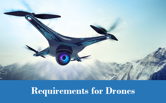 Environmental Testing Requirements for Autonomous Vehicles, UAVs and Drones