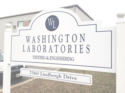 WLL EMC Test Lab Sign