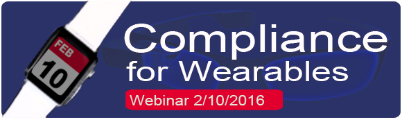 Compliance for Wearables